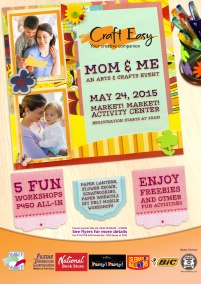 Craft Easy Mom & Me Poster